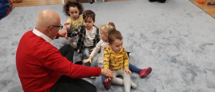Profesor Tarkowski, Gadu Gadu, przedszkole czuby lublin, przedszkole lublin, centrum malucha, czyste przedszkole, lublin, ćwiczymy siedząc